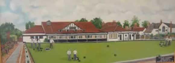 Selborne Bowling Club painting