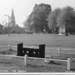 Post card of the Stocks in the fifties