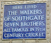 Plaque from Arnos Grove House