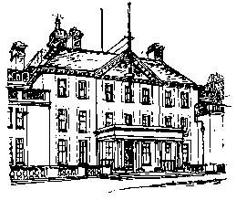 Arnos Grove House now the Beaumont Home and Lulworth Court Flats